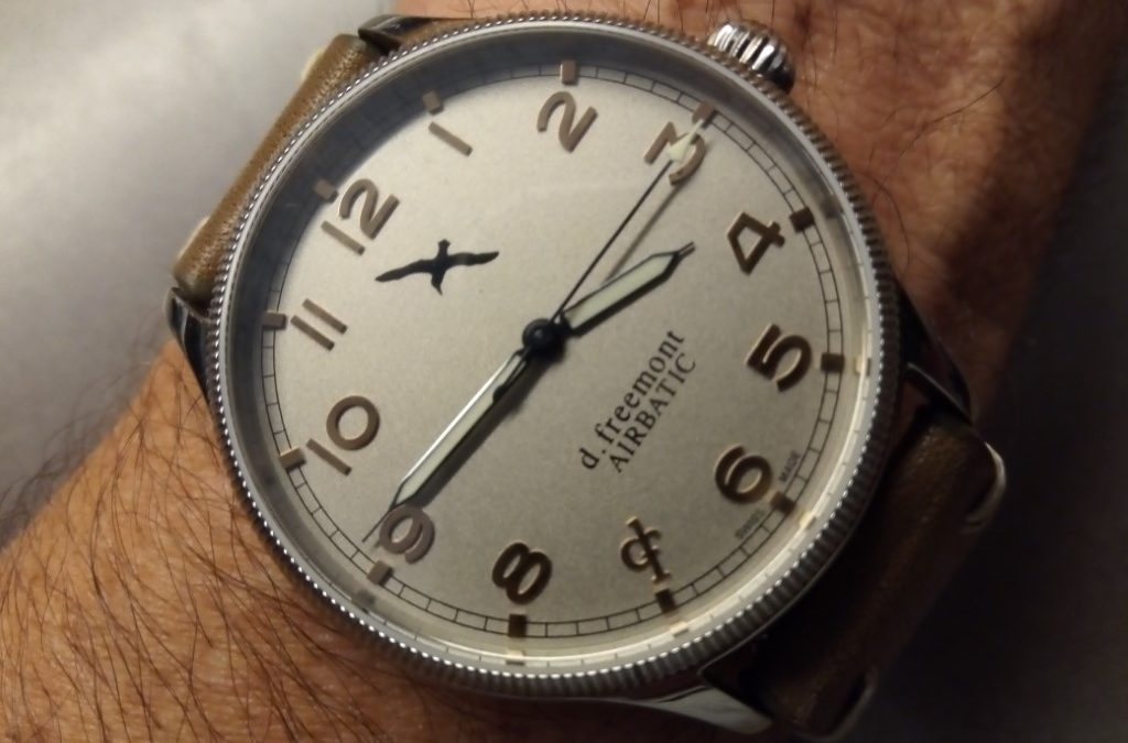 Review – d.freemont Airbatic Watch