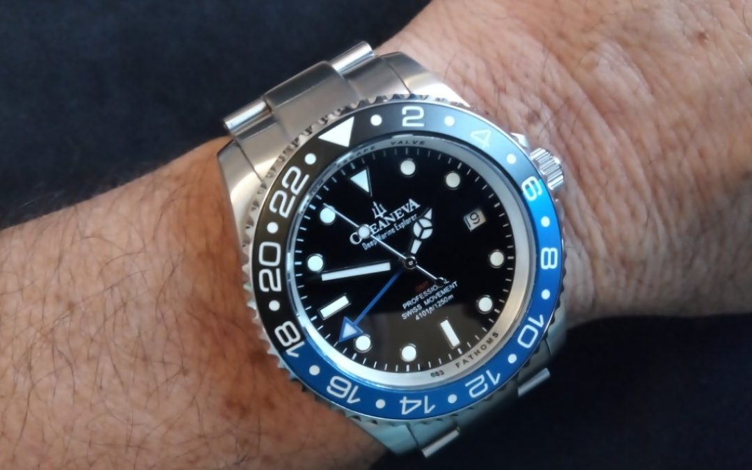 Review – Oceaneva GMT Deep Marine Explorer 1250M Pro Diver
