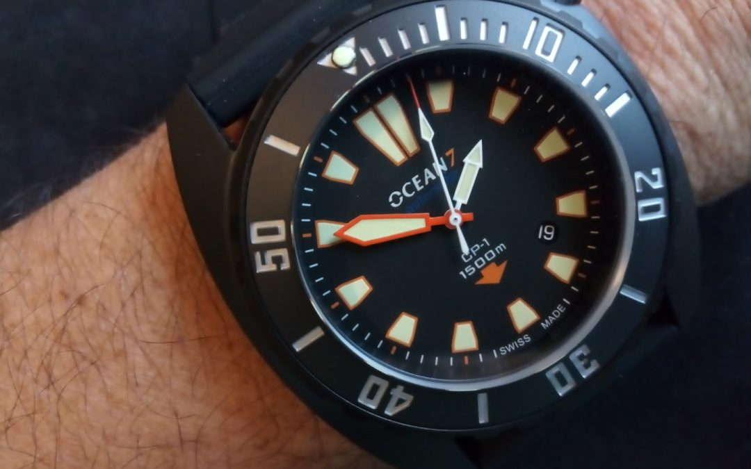 Ocean7 CP-1 – A ceramic dive watch like no other
