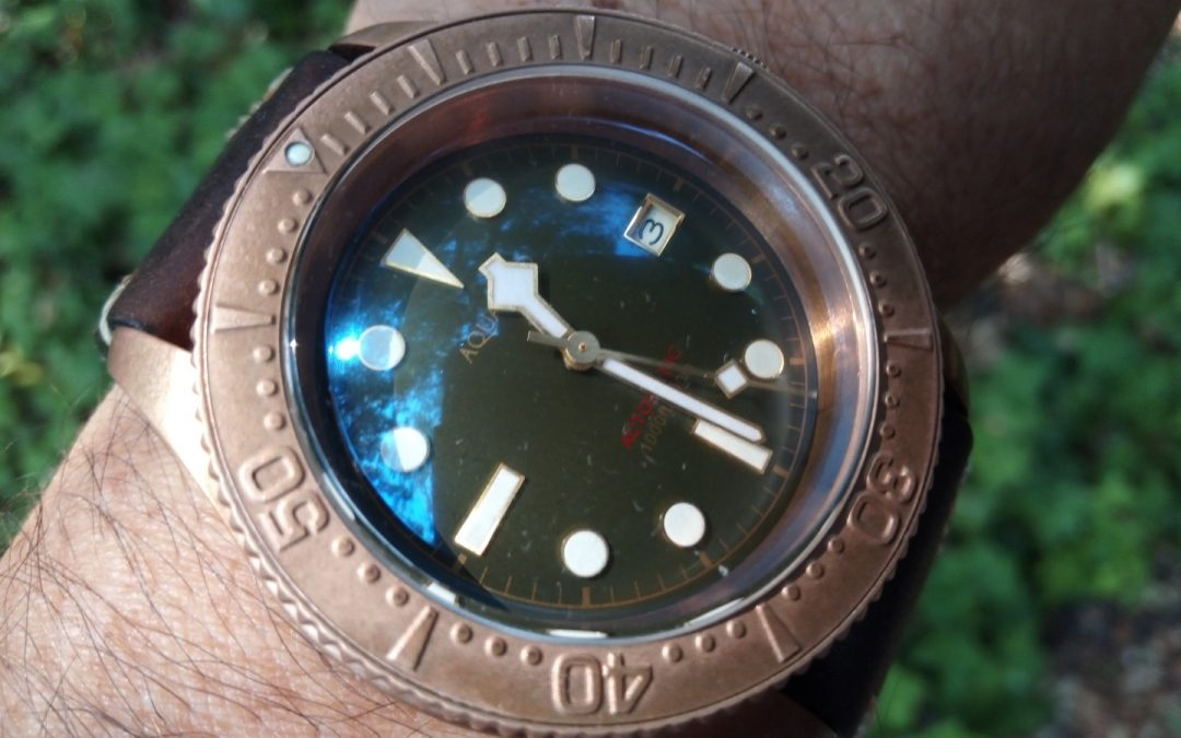 Review – Aquatico bronze Sea Star Diver